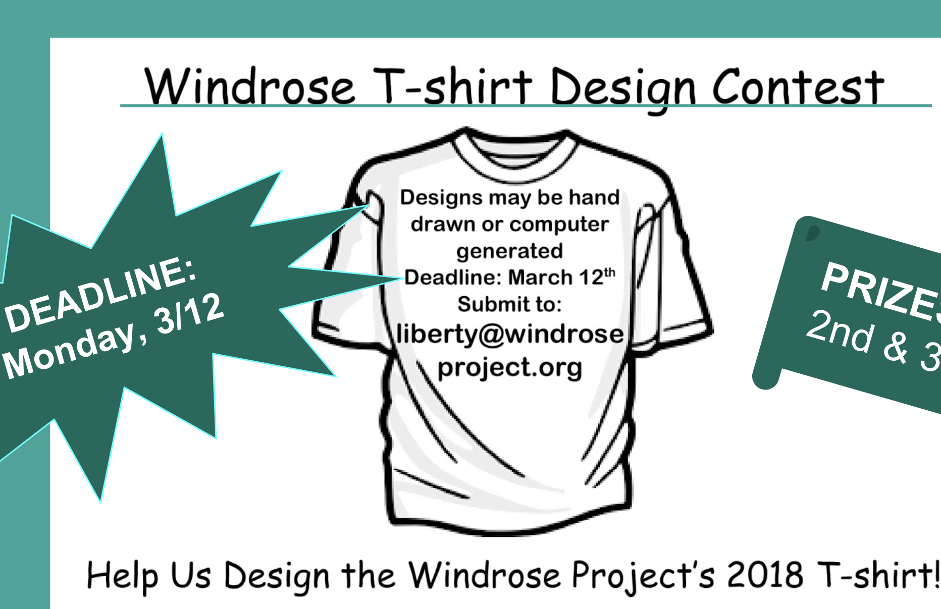 2018 T-shirt Design Contest