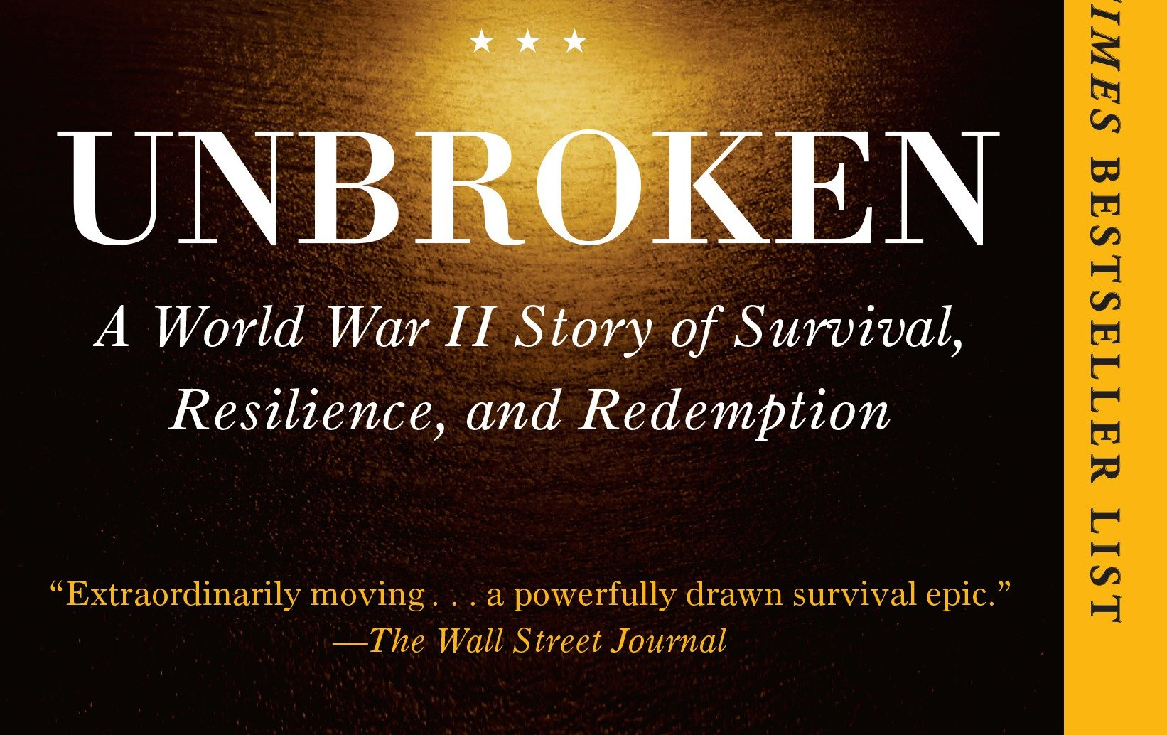 Recommended Read: Unbroken